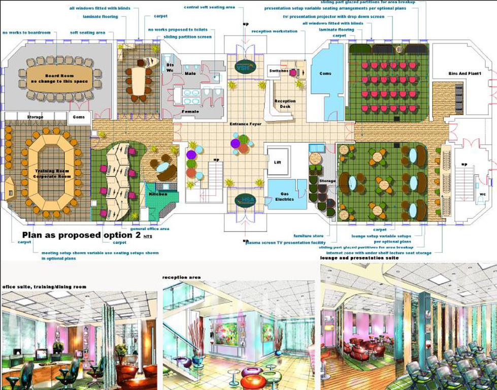 Concept Design. Interior Design And Space Planning ...